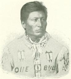 Sioux indian chief one bull