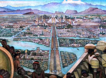 Tenochtitlan le marche de tlatelolco 01