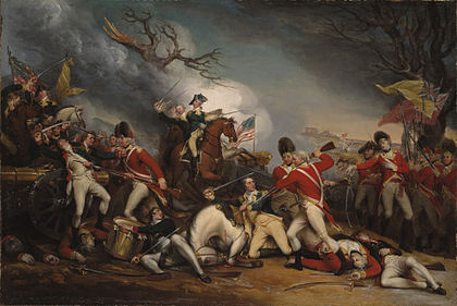 The death of general mercer at the battle of princeton january 3 1777 jpeg