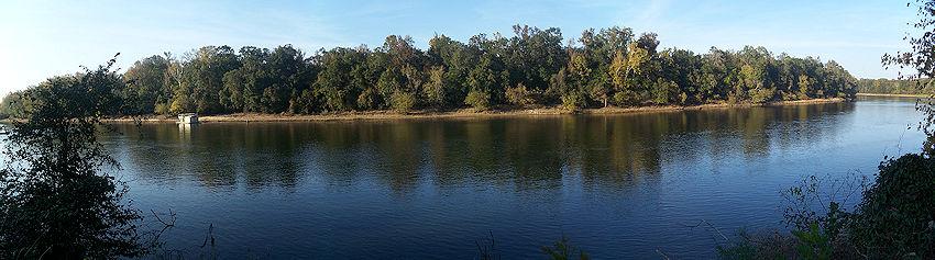 Torreya park apalachicola river pano02