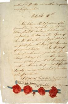 Treaty of paris 1783 last page hi res