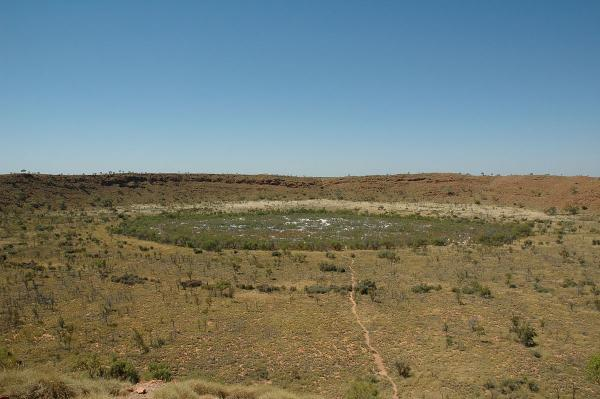 Wolfe creek crater np