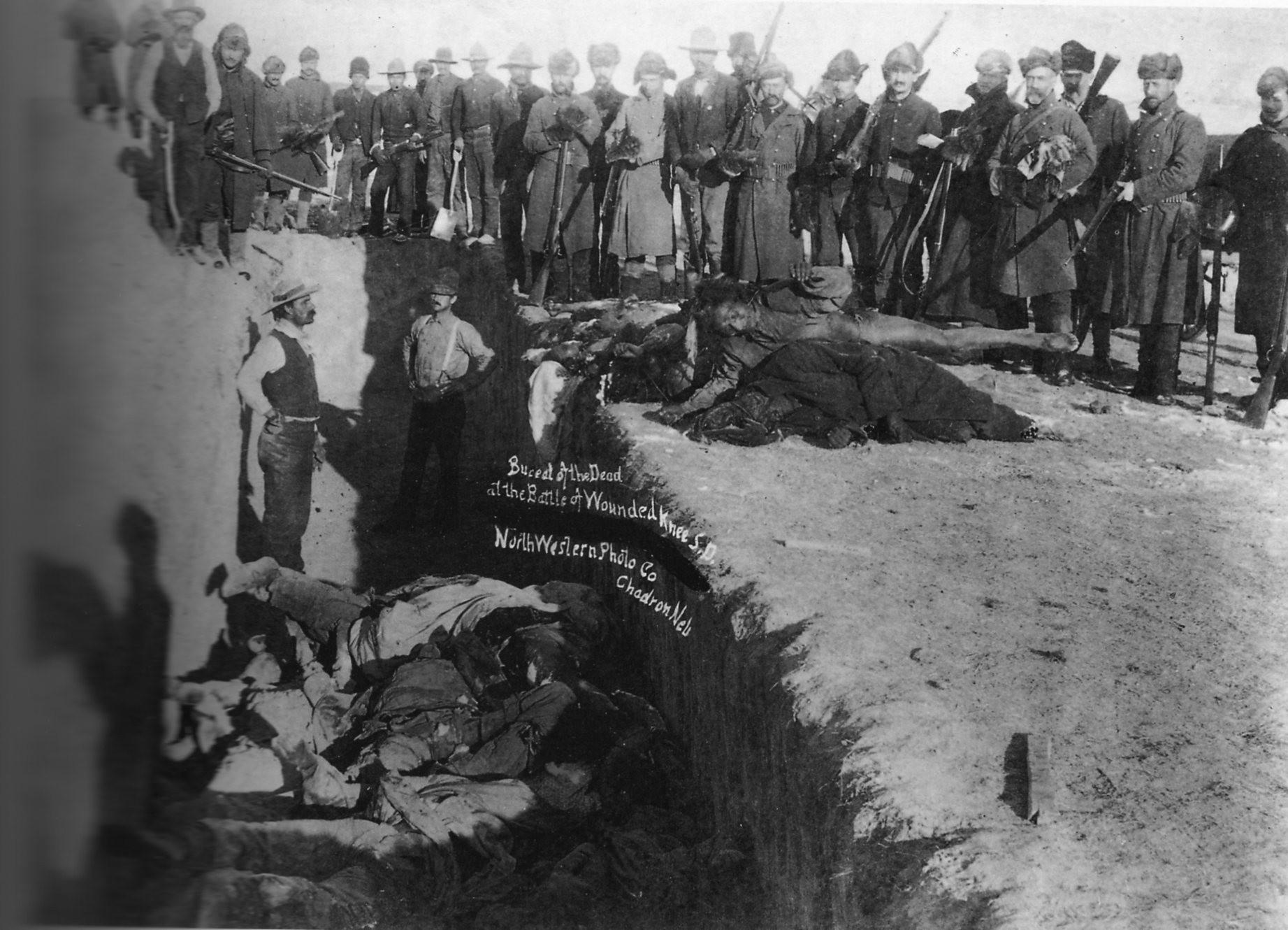 Charnier des Sioux morts