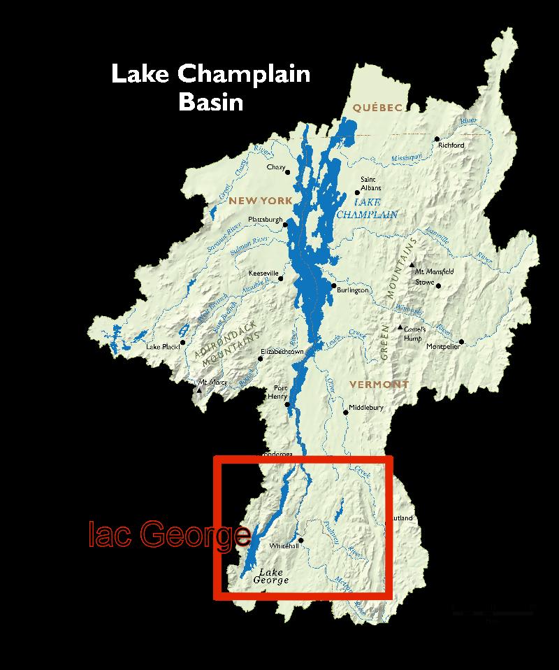 Lake champlain basin 588