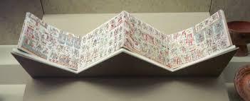 Le papier les glyphes papier amatl