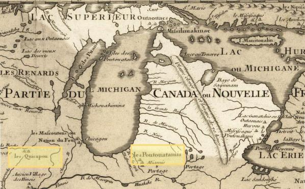 Michigan 1718